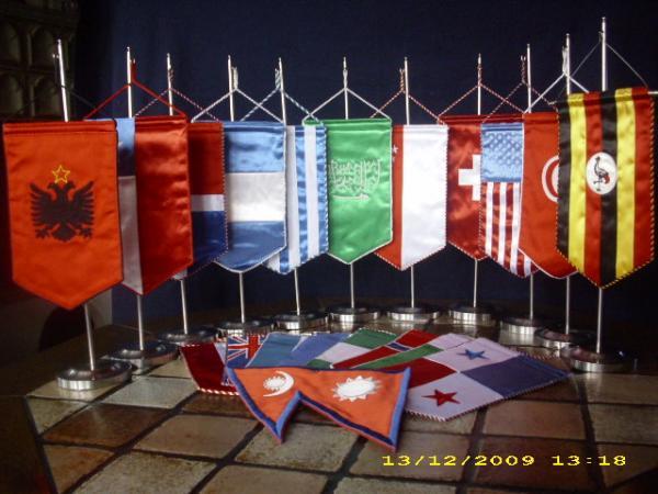 Restposten 100 L Nderflaggen Tischwimpel L Nderfahnen
