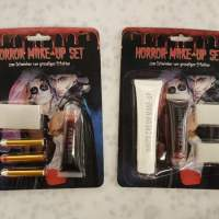 Horror Make-Up Schmink Set im Verkaufsdisplay