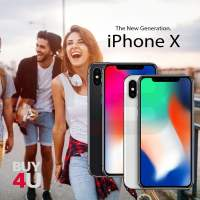 iPhone X 64GB, space gray, SIM & iCloud free, as NEW, incl. packaging + accessories, 12 months warranty